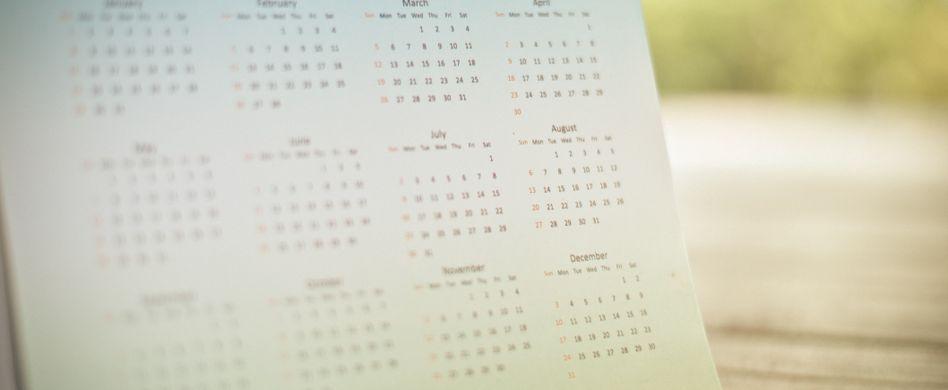 Kräuter Kalender