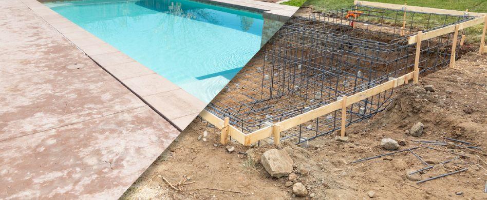 Pool selber bauen: Diese Arbeiten kommen auf Sie zu