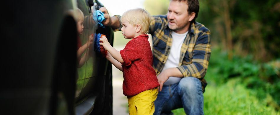 Auto frühlingsfit machen: Zeit für die richtige Autopflege