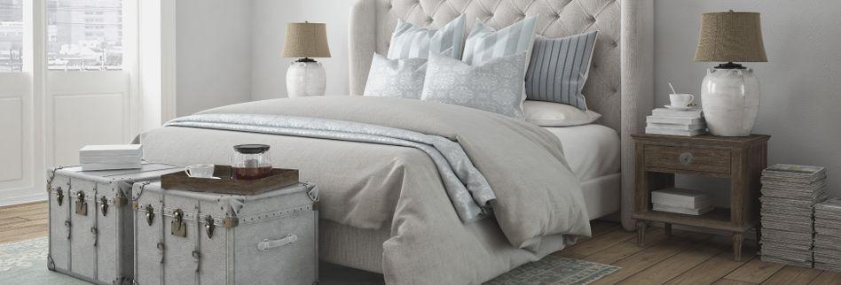 Schlafzimmer gestalten: 4 Tipps für einen erholsamen Schlaf