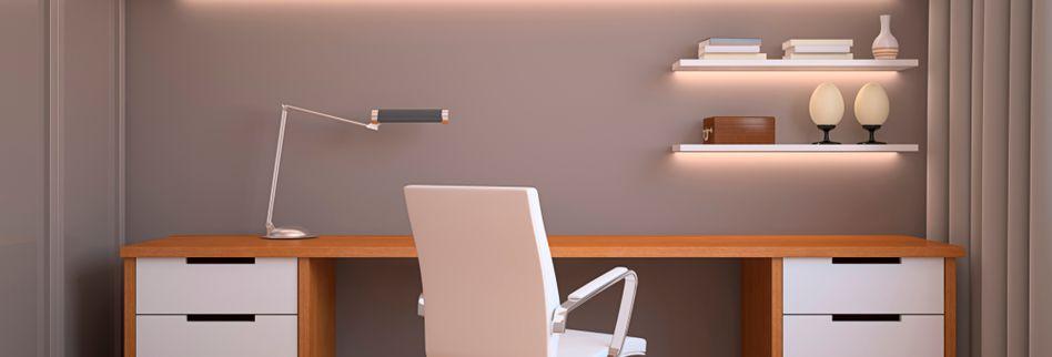 Arbeitszimmer einrichten: 3 praktische Tipps für das Homeoffice