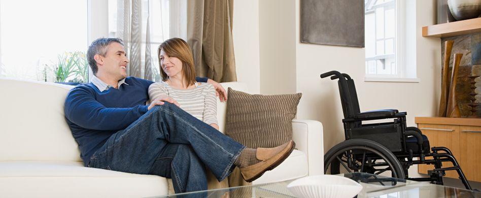 Barrierefreies Wohnen: Das Wohnzimmer behindertengerecht gestalten