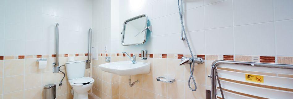 Barrierefreies Bad: WC und Co. behindertengerecht bauen