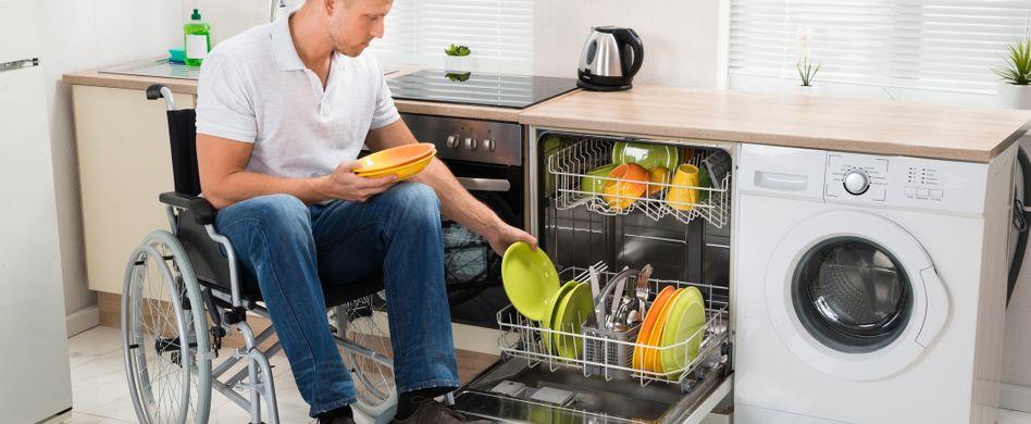 Barrierefreie Küche - So wird die alltägliche Küchenarbeit  möglich