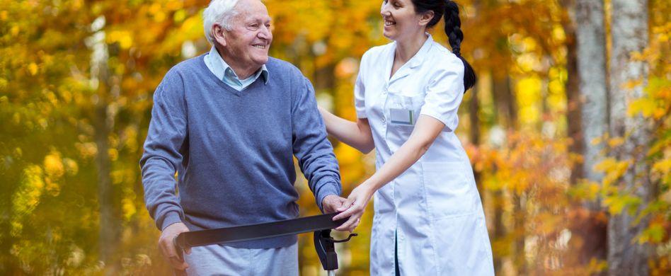 Kurzzeitpflege: Für einen vorübergehenden Zeitraum