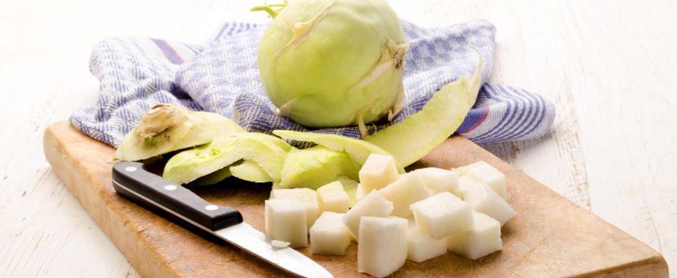 Kohlrabi zubereiten und verwenden: 3 Ideen zum gesunden Gemüse