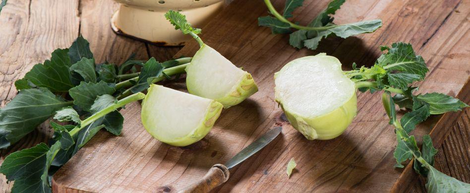 Kohlrabi einfrieren: So bleibt das Gemüse frisch