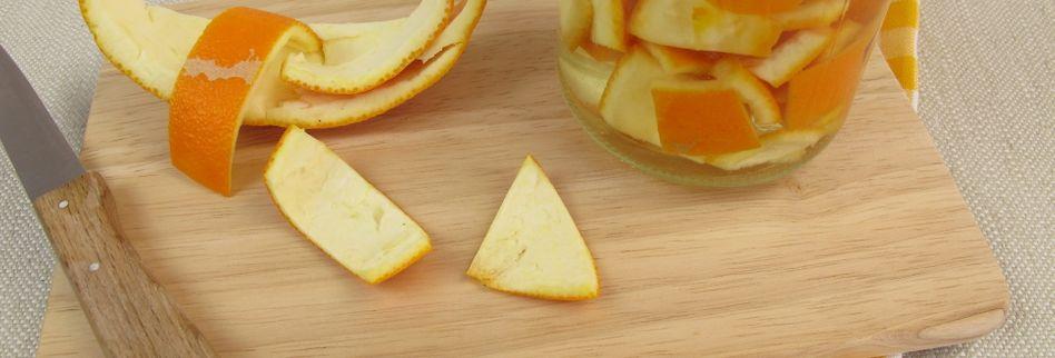 6 geniale Tipps, wie Sie Orangenschalen nutzen können