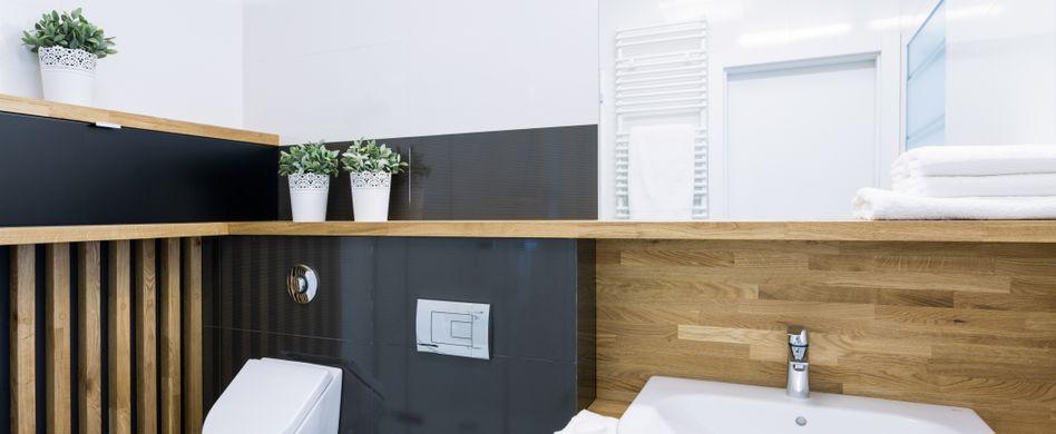 Holz im Bad: Natürlich und edel