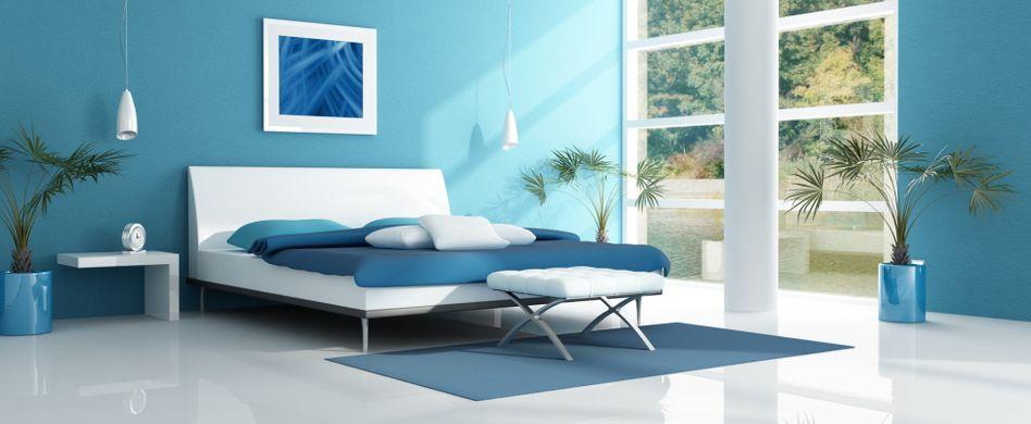 Schlafzimmer streichen: 7 Farben und deren Wirkung auf Ihren Schlaf