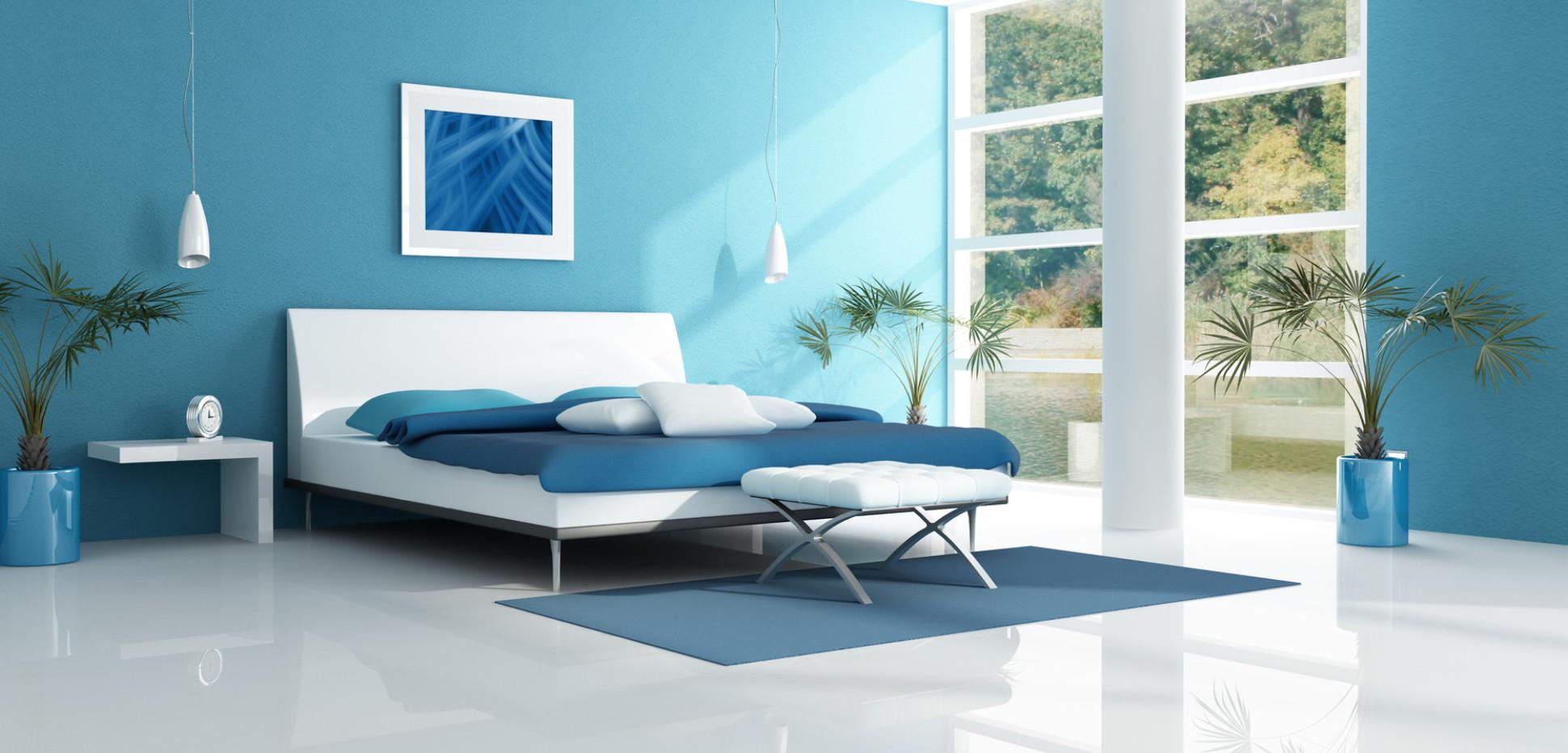 Schlafzimmer streichen → Wir zeigen Ihnen 16 Farben, die Wirkung