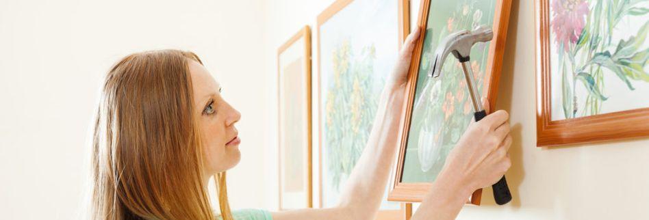 Bilder arrangieren: So bringen Sie die Wanddeko richtig zur Geltung