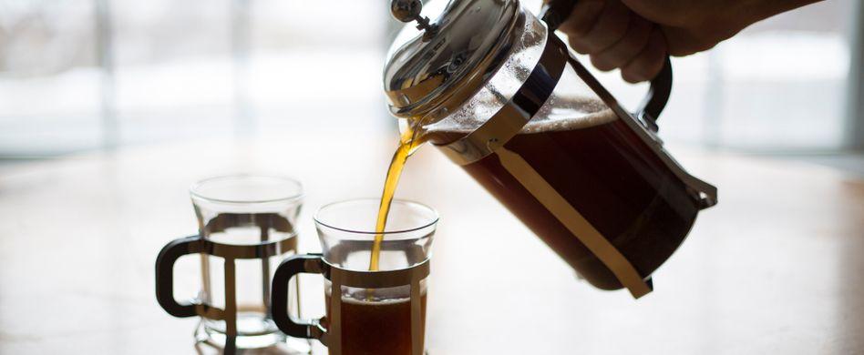 French Press: Anleitung für Kaffee aus der Pressstempelkanne