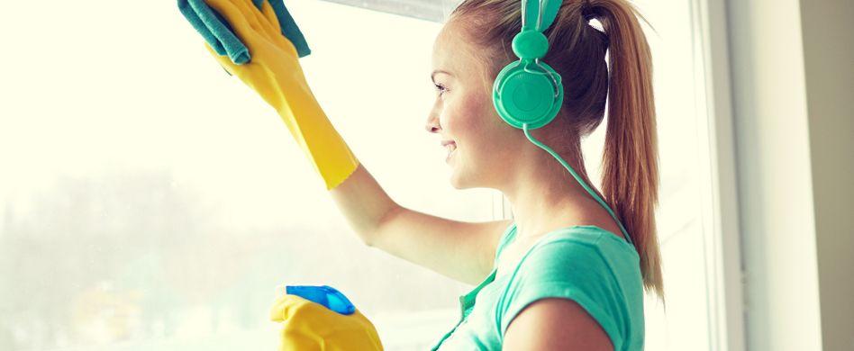 Putzen als Work-out: So fit werden Sie durch Hausarbeit