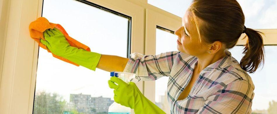 Fensterrahmen reinigen: Darauf sollten Sie achten