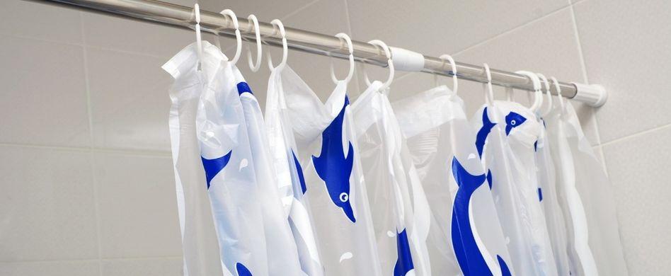 Duschvorhang waschen: Mit diesem Trick hat Schimmel keine Chance