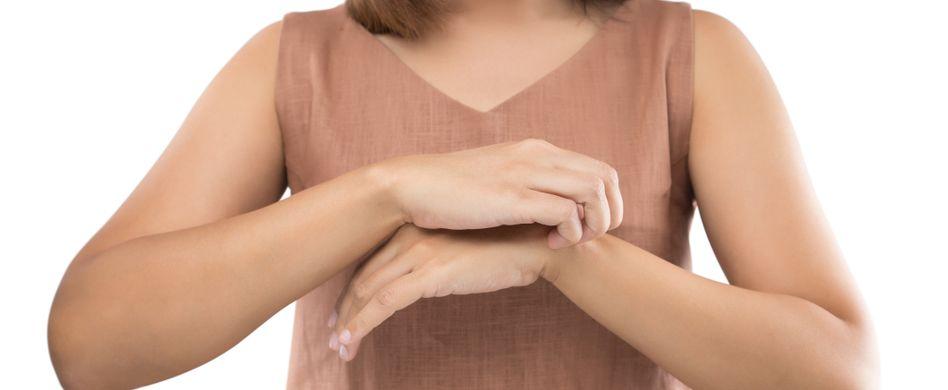 Warzen-Symptome: Juckreiz ist ein häufiges Symptom