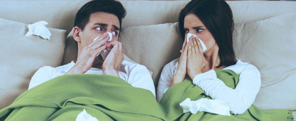 Grippe oder Erkältung? Die Unterschiede
