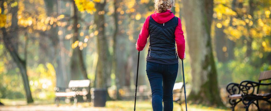 Nordic Walking: Anleitung für den gesunden Outdoor-Sport