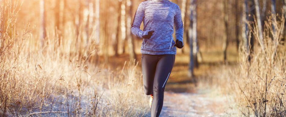 Joggen im Winter: Was Sie beachten sollten
