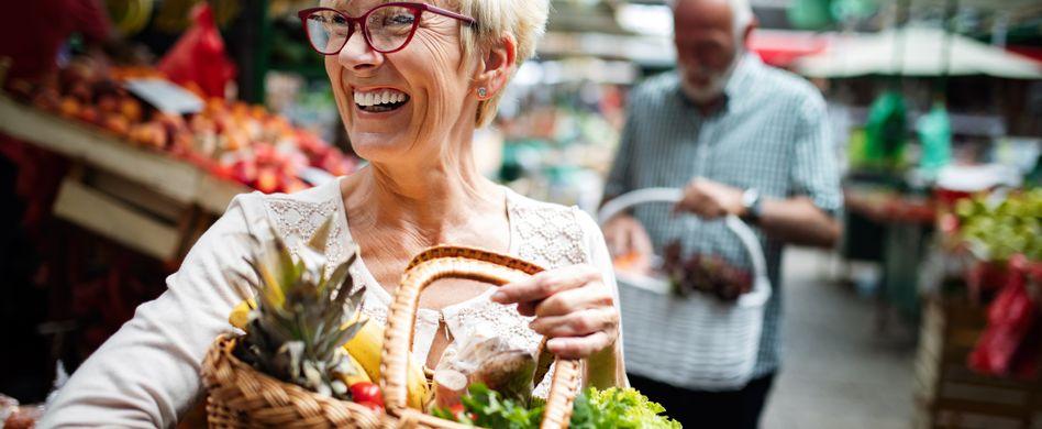 Ernährung im Alter: 3 gesunde Tipps