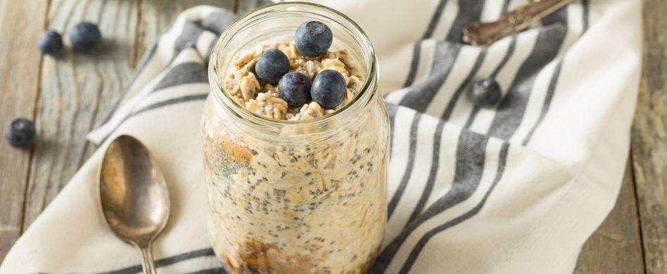Overnight Oats: 5 Ideen für das gesunde Frühstück