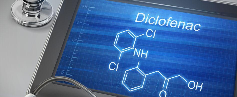 Diclofenac chemische Formel